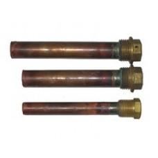 Стакан медный двойной, L=120 mm 16мм
