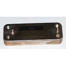 Теплообменник вторичный, пластинчатый для котлов Baxi Eco3, Luna3, Luna, Eco