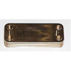Теплообменник вторичный, пластинчатый для котлов Beretta Super Exclusive, Nobel Plus