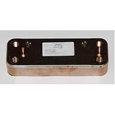 Пластинчатый вторичный теплообменник BAXI 14 пластин.