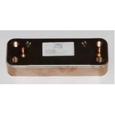 Пластинчатый вторичный теплообменник BAXI. 12 пластин