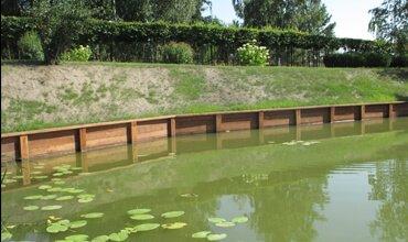 технология строительства пруда на участке